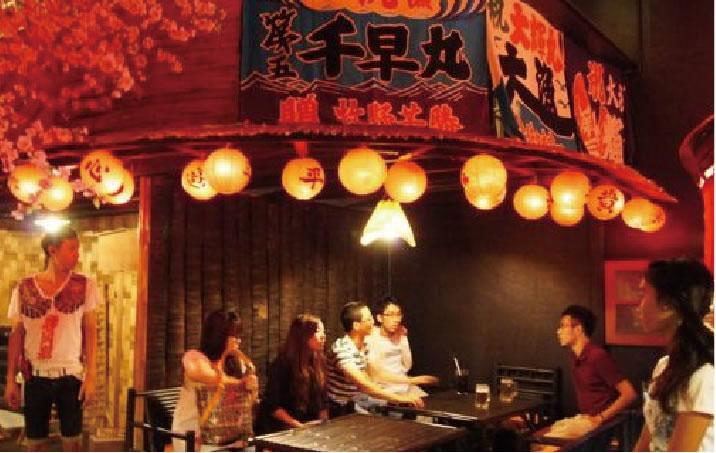 夕食は日本企業の経営するレストランで日本の力を実感