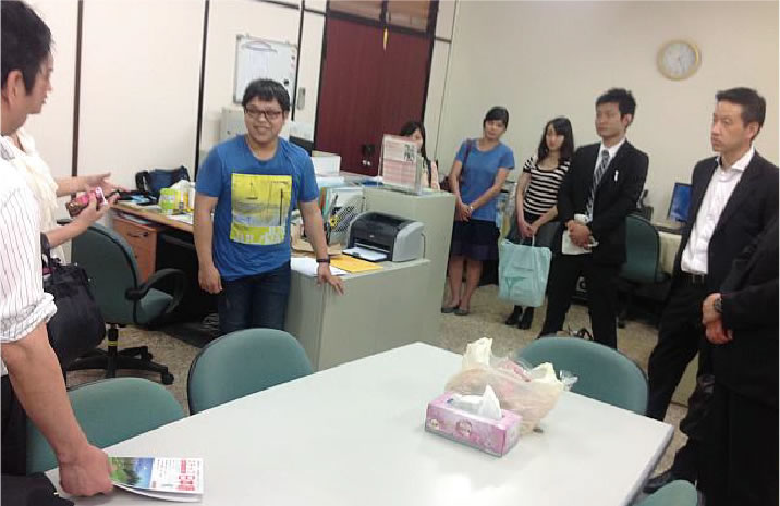 現地で頑張る、日本企業の会社訪問。